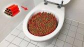 1000 دینامیت در مقابل توالت