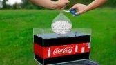 آزمایش: غول Mentos در کوکا کولا