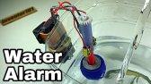 چگونه یک هشدار شاخص سطح آب ساده در خانه درست کنیم؟
