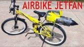 نحوه ساخت دوچرخه هوایی - با موتور 2 زمانه