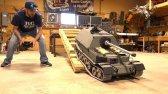 تانک غول پیکر فلزی کنترلی