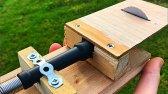 نحوه ساخت مینی اره با استفاده از ابزار دوار
