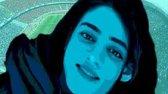 اجرای سرود دختر آبی توسط هواداران فوتبال