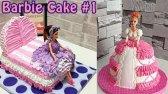 آموزش تزیین کیک  تولد دخترونه