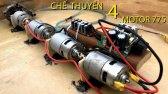 ساخت قایق با استفاده از 4 موتور 775