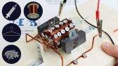 نحوه ساخت موتور الکتریکی خانگی