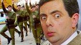 مستر بین در ارتش | کلیپ های خنده دار | کمدی آقای بین