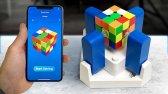 این ربات مکعب روبیک را در زمان رکورد جهانی حل می کند