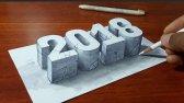 طراحی سه بعدی اعداد