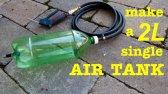 ساخت مخزن هوا با بطری