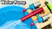 نحوه ساخت پمپ آب با سرعت بالا در خانه