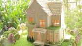 ساخت یک خانه ی زیبا با چوب بستنی