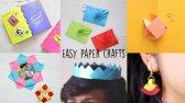 ایده ی ساخت ۶ کاردستی کاغذی