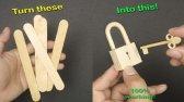 ساخت قفل چوبی