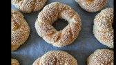 نان کنجد حلقه ای بسیار خوشمزه
