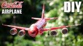 ساخت هواپیما با قوطی نوشابه