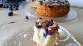 طرز تهیه کیک بلوبری