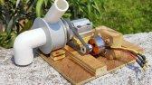 ساخت پمپ آب قدرتمند