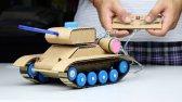 ساخت تانک کنترلی اسباب بازی