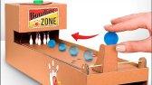 ساخت بازی بولینگ با مقوا