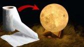 ساخت چراغ خواب شکل ماه