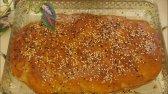 تهیه نان گردویی مخصوص ماه رمضان