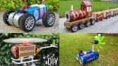 4 ایده حیرت انگیز برای ساخت اسباب بازی