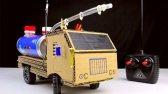 ساخت کامیون کنترلی با مقوا