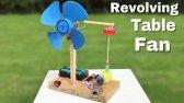 اختراع پنکه فن دار کوچک و قابل ساخت در خانه