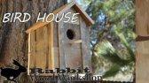آموزش ساخت خانه ی پرندگان با چوب