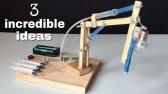 3 اختراع دست ساز حیرت انگیز