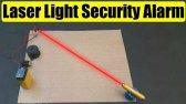 ساخت سیستم هشدار امنیتی با لیزر نوری
