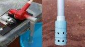 ساخت شیر آب برای پمپ آب بسیار قدرتمند