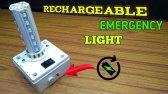ساخت چراغ اضطراری قابل شارژ