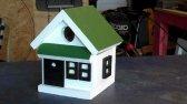 ساخت خانه های زیبا و سریع برای پرندگان