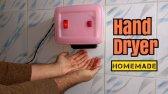 ساخت دستگاه خشک کن دست