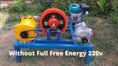تولید برق رایگان 230 ولت با ژنراتور 7 هزار وات