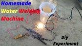 ساخت دستگاه جوشکاری با محلول آب و نمک