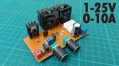 ساخت منبع تغذیه قابل تنظیم جریان ولتاژ
