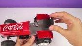 ساخت تراکتور با قوطی های نوشابه