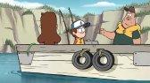 انیمیشن سریالی آبشار جاذبه دوبله فارسی قسمت 2