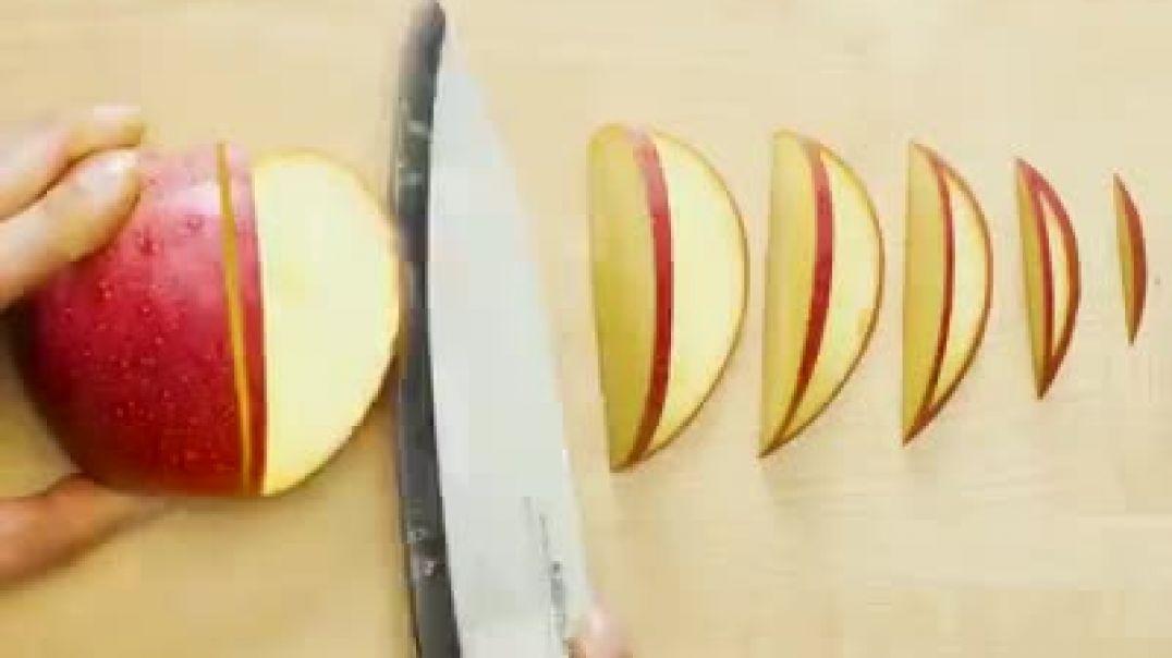 روش های خلاق و جالب برش میوه