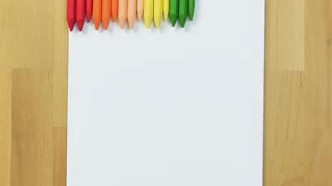 20 طرح جالب با مداد رنگی