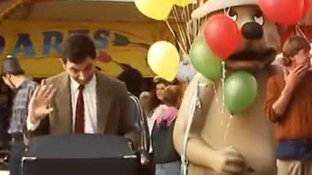 هنگامی که آقای Bean تمرین هدف می کند