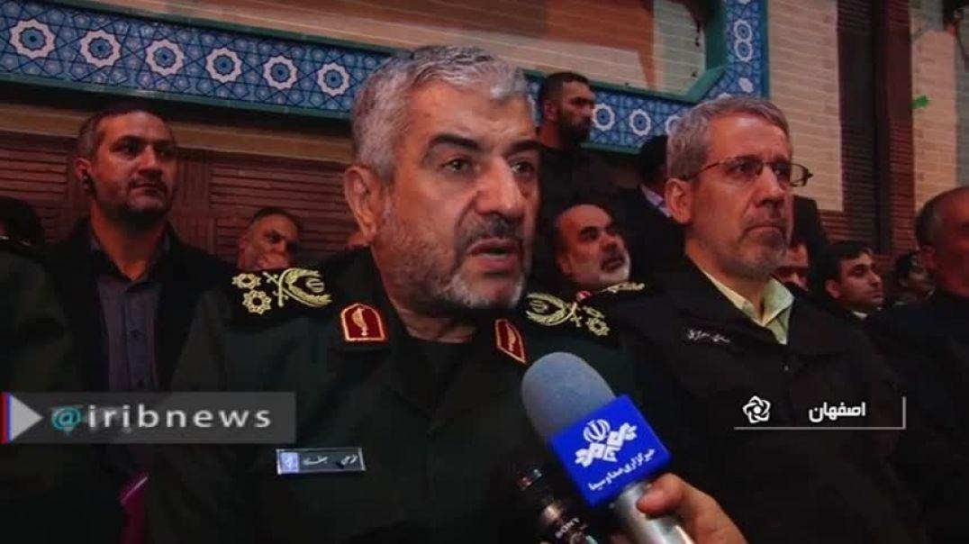 هشدار فرمانده سپاه به پاکستان