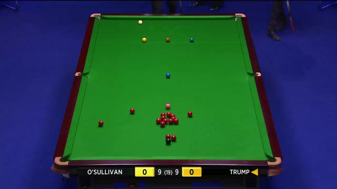 اسنوکر O'Sullivan و Trump FINAL 2014 مسابقات قهرمانی UK