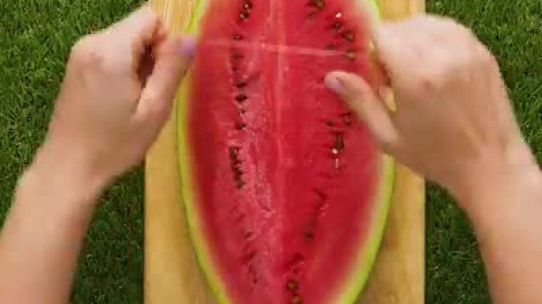 روش های خلاقانه برای برش میوه