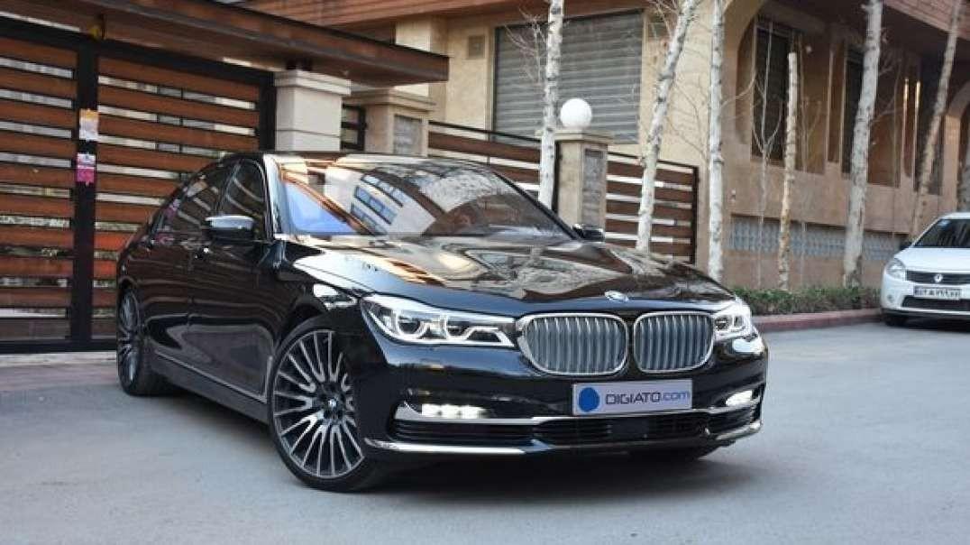 نمایش BMW از درون و بیرون