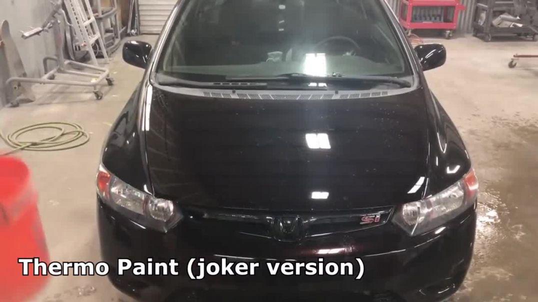 رنگ های جالب و زیبا که رنگ ماشین را تغییر میدهند