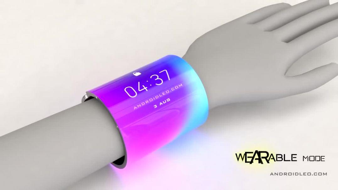 سامسونگ Galaxy Flex 2020 مفهوم آینده تلفن همراه با نمایش انعطاف پذیر (قیمت و تاریخ انتشار)